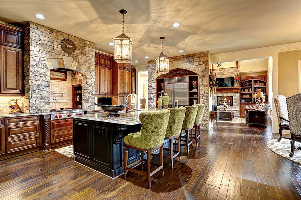 Craftsman, Ranch, Tuscan House Plan 97680 with 3 Beds, 4 Baths, 3 Car Garage Picture 14