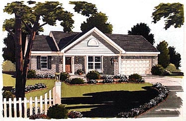 Ranch House Plan 97724 Elevation