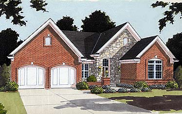 Traditional House Plan 97737 Elevation