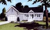 Plan Number 97762 - 1594 Square Feet