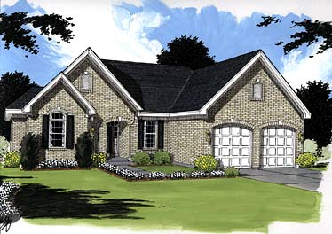 Traditional House Plan 97774 Elevation