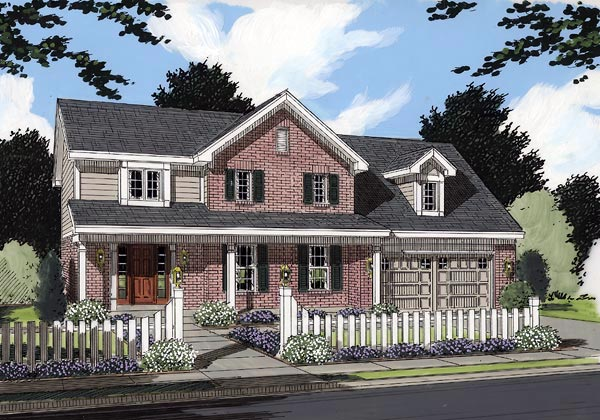Country House Plan 97786 Elevation