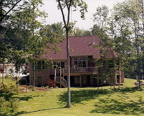 European Traditional House Plan 97796 Rear Elevation