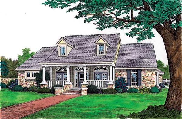 House Plan 97862 at FamilyHomePlans.com on