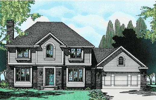 European House Plan 97906