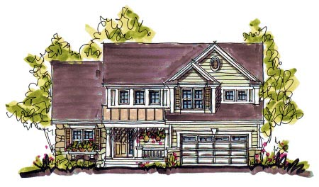 Bungalow Country House Plan 97940 Elevation