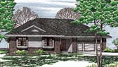 Plan Number 97955 - 1392 Square Feet