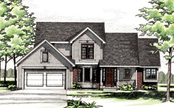 Country Traditional House Plan 97986 Elevation