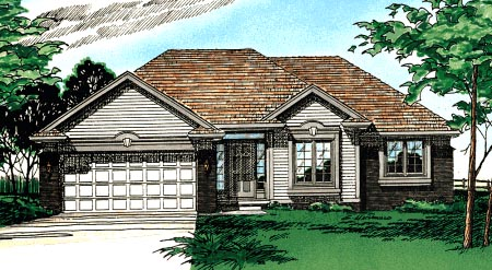 Traditional House Plan 97988 Elevation
