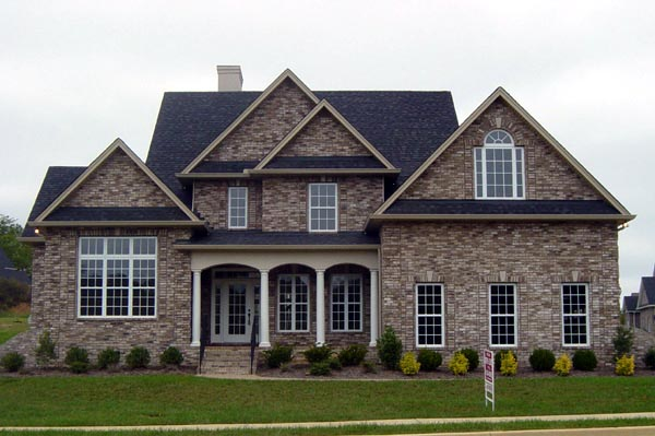 Colonial, Country House Plan 98201 with 4 Beds, 3 Baths, 2 Car Garage Picture 1