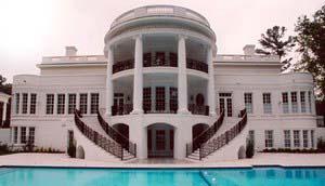 Rear Elevation of Colonial   Greek Revival   House Plan 98264