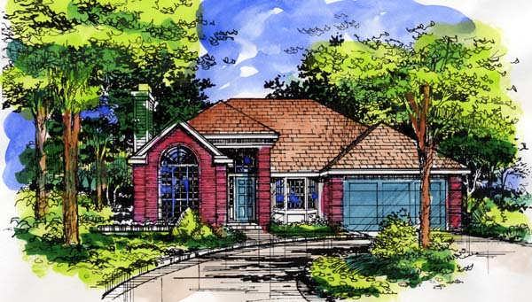 Traditional House Plan 98354 Elevation