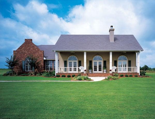 Prairie Style Southwest House Plan 98366 Elevation