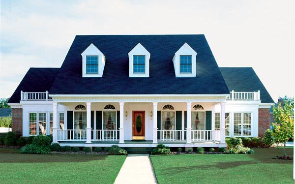 southern style floor plans southern style house plan 98369 with 4 bed 4 bath 5118