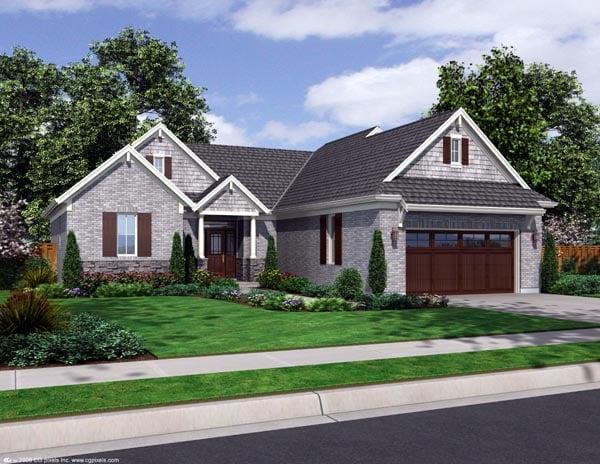Craftsman House Plan 98636 Elevation