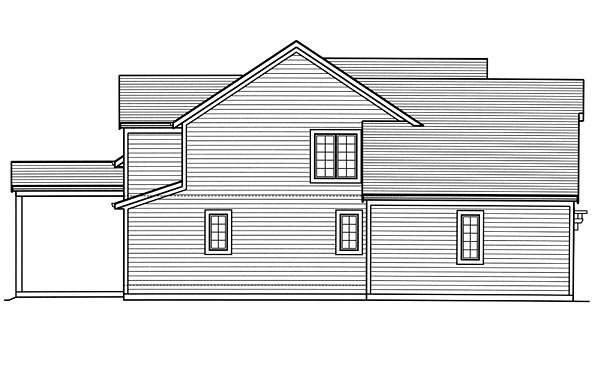 Country, Craftsman, Traditional House Plan 98677 with 3 Beds, 3 Baths, 2 Car Garage Picture 1