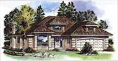 Plan Number 98831 - 1457 Square Feet