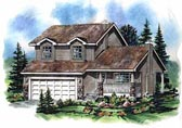 Plan Number 98836 - 1447 Square Feet