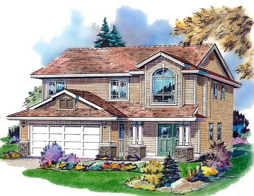 Traditional House Plan 98839 Elevation