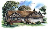 Plan Number 98855 - 1522 Square Feet