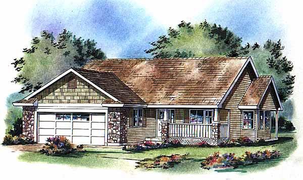 Ranch House Plan 98863