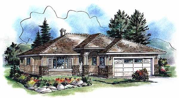 OneStory House Plan 98865