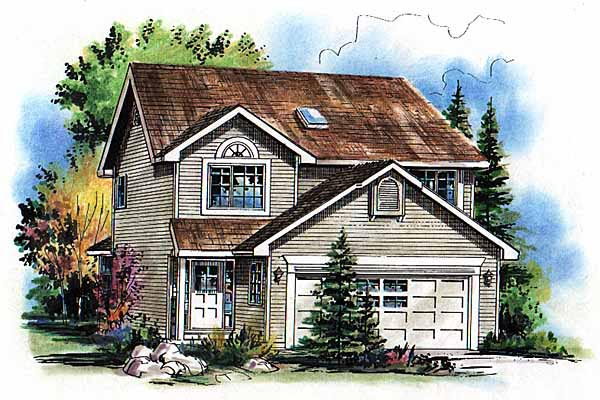 Traditional House Plan 98866 Elevation