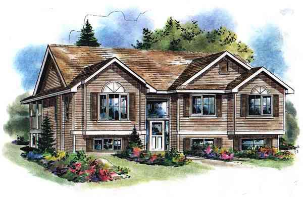 Traditional House Plan 98893 Elevation