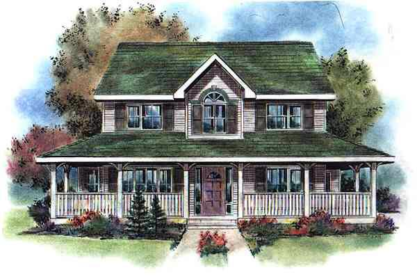 Country Southern House Plan 98898 Elevation