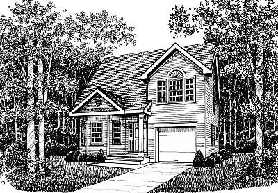 Country House Plan 99066 Elevation