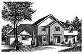 Plan Number 99070 - 2028 Square Feet