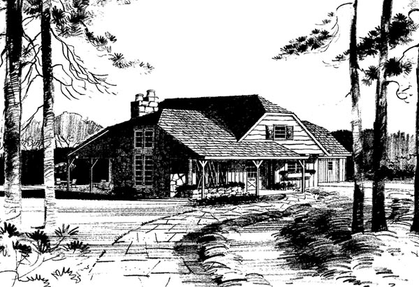 Tudor House Plan 99098 Elevation