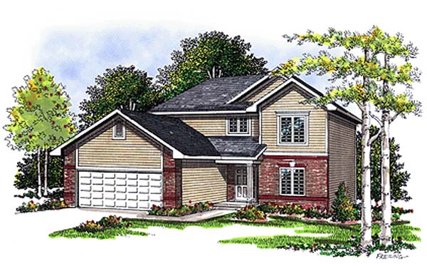 Bungalow Country House Plan 99100 Elevation