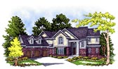 Plan Number 99118 - 3511 Square Feet
