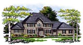 Plan Number 99128 - 2751 Square Feet