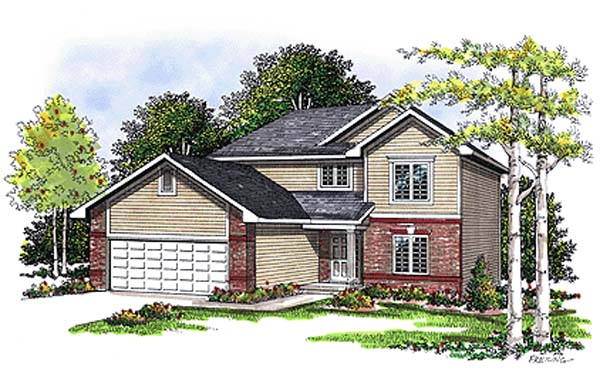Traditional House Plan 99155 Elevation