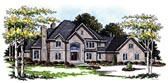 Plan Number 99170 - 5185 Square Feet