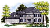 Plan Number 99172 - 2868 Square Feet
