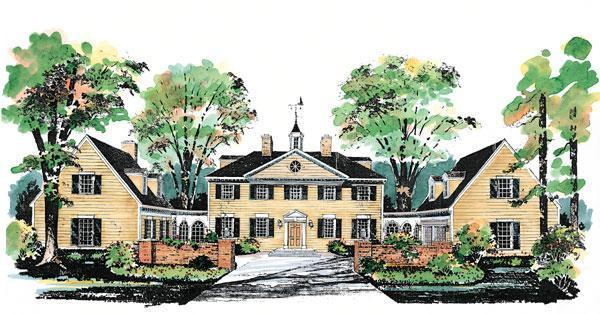 Country House Plan 99236