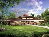 Prairie Style Home Plans