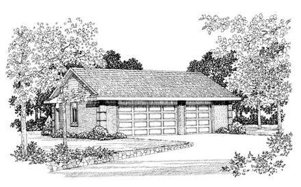 Garage Plan 99291