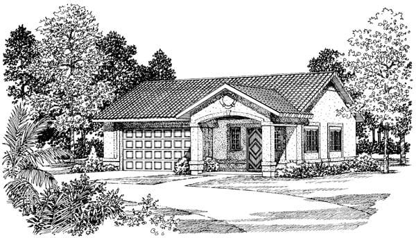 Garage Plan 99293 Elevation