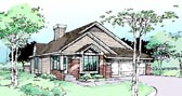 Plan Number 99302 - 1270 Square Feet