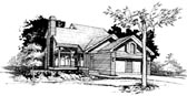 Plan Number 99305 - 1333 Square Feet
