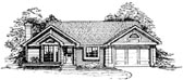 Plan Number 99324 - 1307 Square Feet