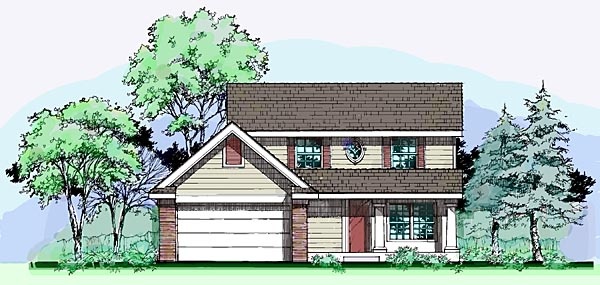 Country House Plan 99362 Elevation