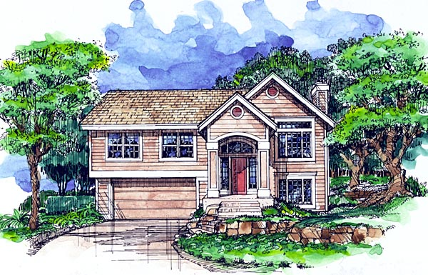 Country House Plan 99365 Elevation