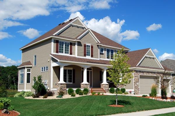 Cottage, Craftsman, Traditional House Plan 99376 with 4 Beds, 3 Baths, 3 Car Garage Elevation