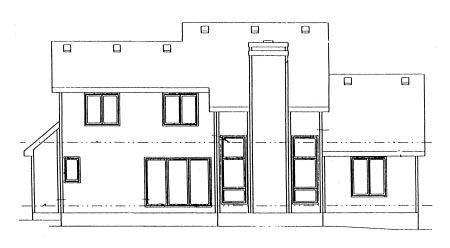 Country House Plan 99418 Rear Elevation