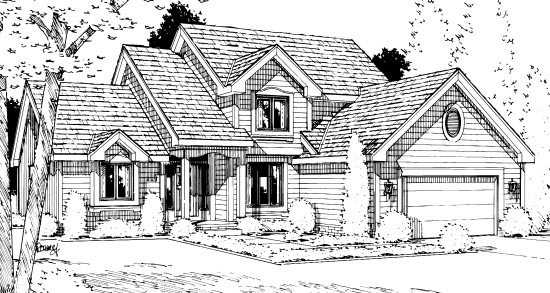 Country House Plan 99421